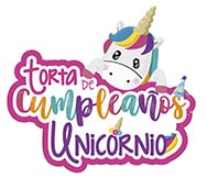 Torta de cumpleaños unicornio